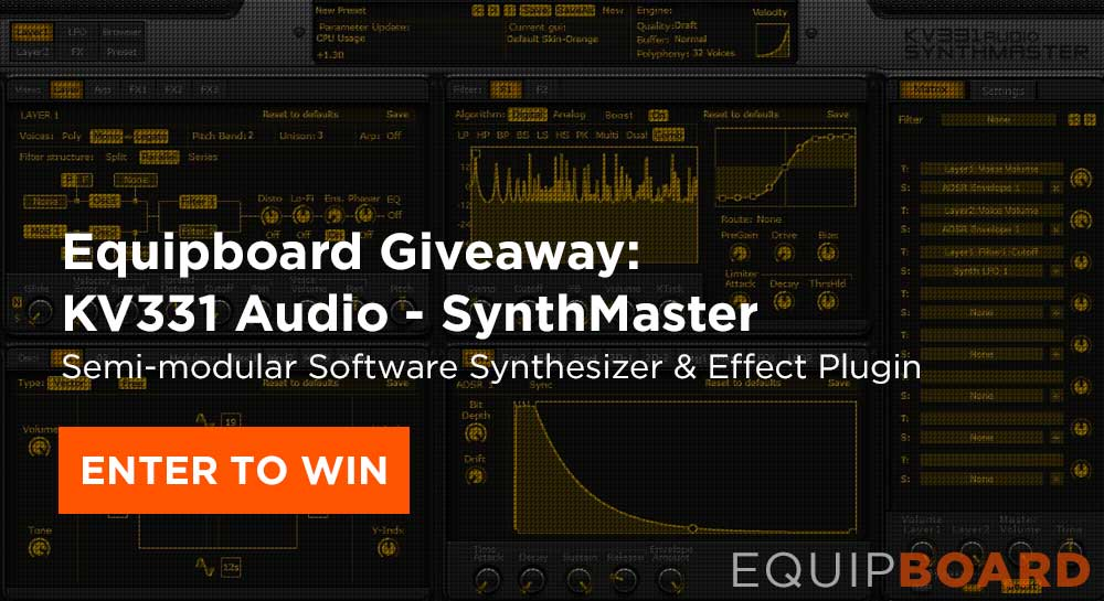 Giveaway: KV331 Audio - SynthMaster