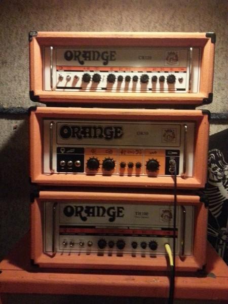 Spencer Hazard's Orange TH100 Head