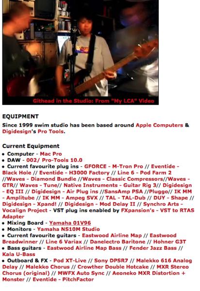 Colin Newman's Fender Jazz Bass