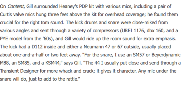 Andy Gill's Neumann U47 FET Microphone