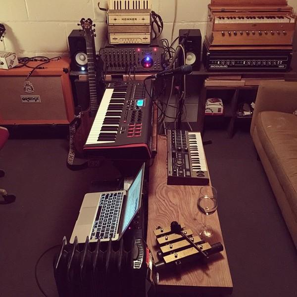 Daniel Spack's Orange Amplifiers Rockerverb RK50C MKII 50W 2x12 Tube Guitar Combo Amp