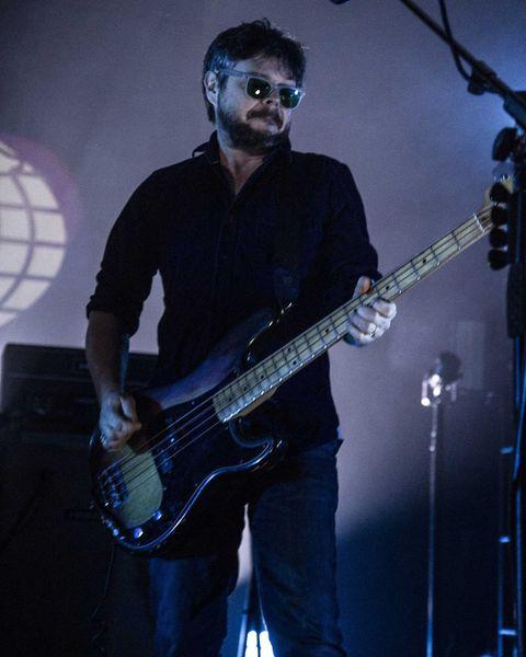Mick Quinn's Fender Precision Bass - Sunburst
