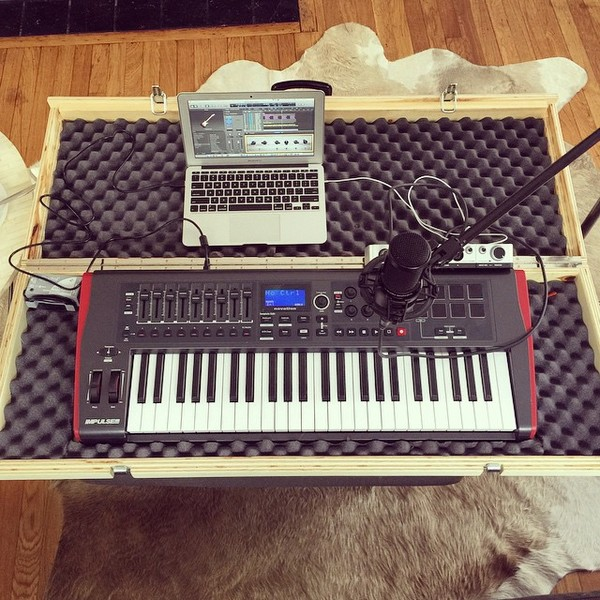Daniel Spack's Novation Impulse 49 Midi Keyboard