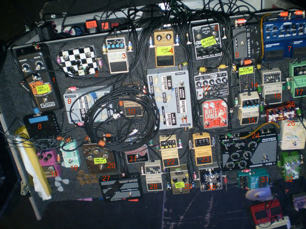 Kevin Shields's Boss PS-5 SUPER Shifter Pedal