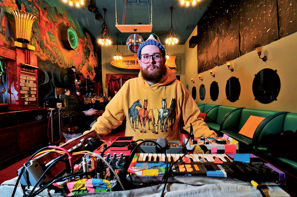 Dan Deacon's DigiTech Whammy (4th Gen)