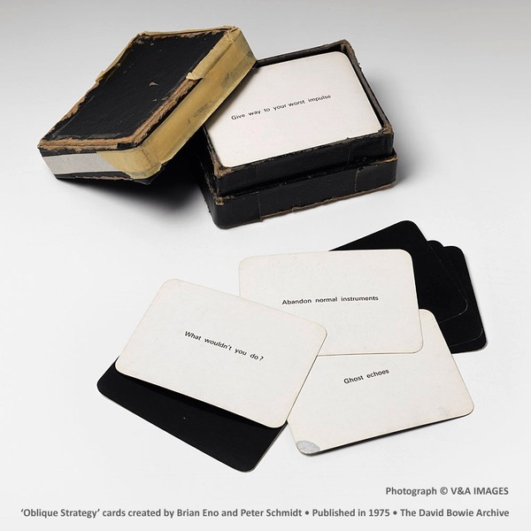 David Bowie's Oblique Strategies: Over One Hundred Worthwhile Dilemmas