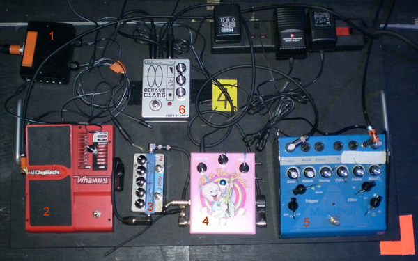 Kevin Shields's ZVex Hand-Painted LO-FI Loop Junky Guitar Effects Pedal