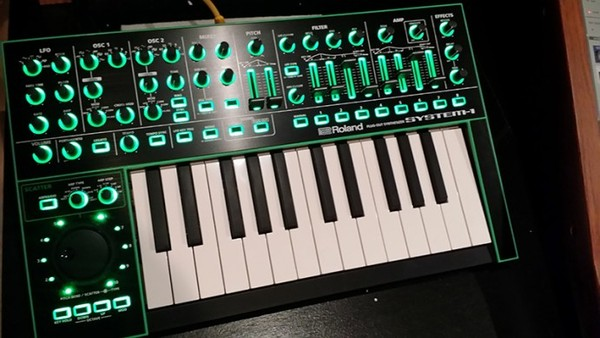 DJ Pierre's Roland AIRA SYSTEM-1 Plug-Out Synthesizer