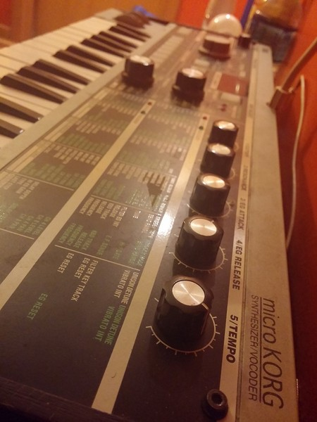 DJ Pierre's Korg MicroKORG Synthesizer/Vocoder