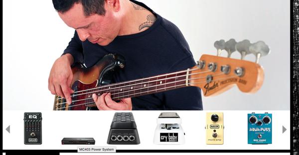 Juan Alderete's Dunlop Cry Baby 105Q Bass Wah Pedal
