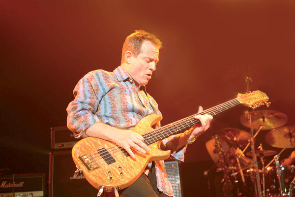 John Paul Jones's Manson John Paul Jones Custom 10-String Bass Guitar