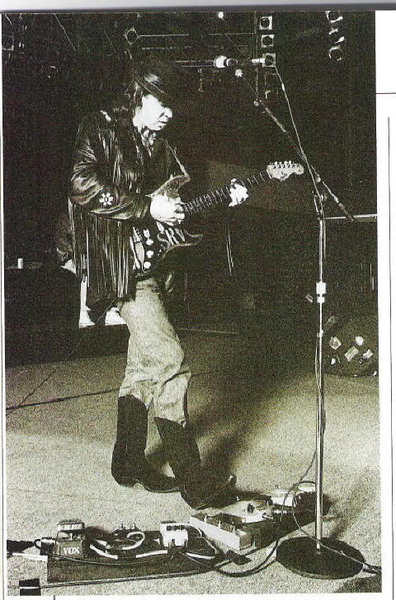 Stevie Ray Vaughan's Dunlop Dallas Arbiter Fuzz Face