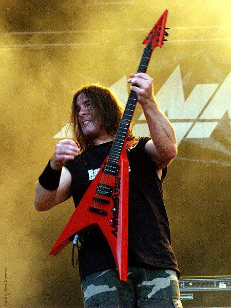 Jeff Waters's Ran Guitars Annihilator Invade Electric Guitar