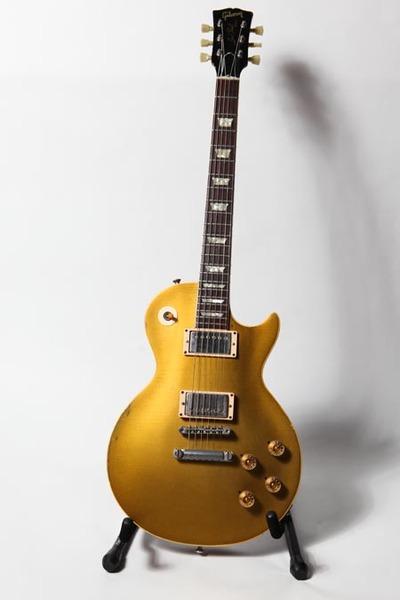 Aaron Lewis's Gibson 1968 Les Paul Goldtop Electric Guitar