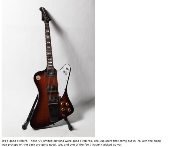 Aaron Lewis's Gibson Firebird V