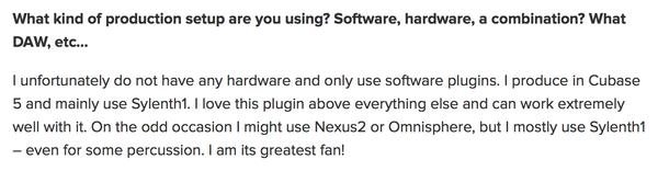 Zedd's Lennar Digital Sylenth1 Software Synthesizer