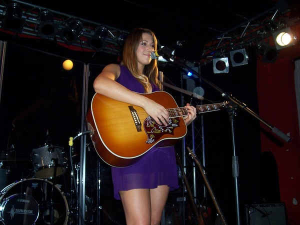 Colbie Caillat's Gibson Hummingbird