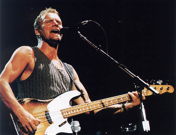 Sting's Fender Precision Bass