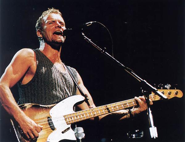 Sting's Fender Precision Bass
