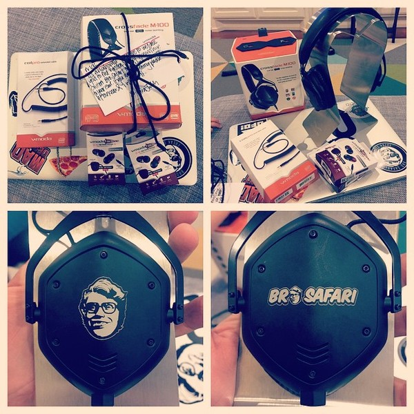Bro Safari's V-Moda Crossfade M-100 Over-Ear Noise-Isolating Headphone