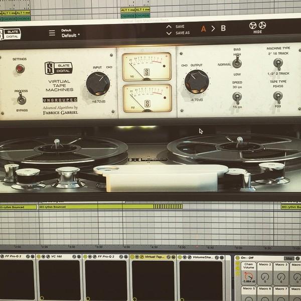 Dada Life's Slate Digital Virtual Tape Machines Plugin