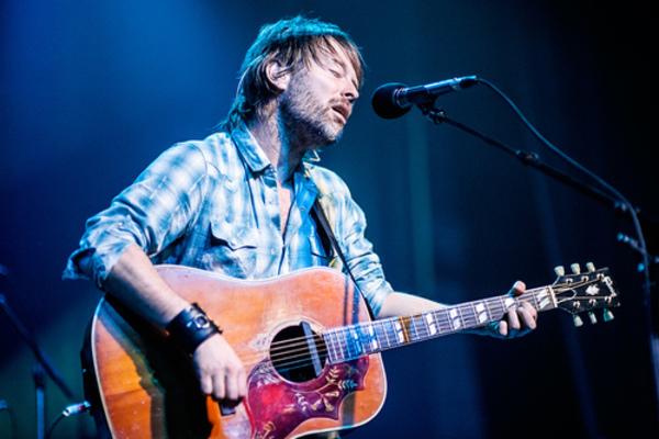 Thom Yorke's Gibson Hummingbird