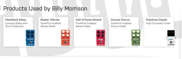Billy Morrison's TC Electronic Corona Chorus