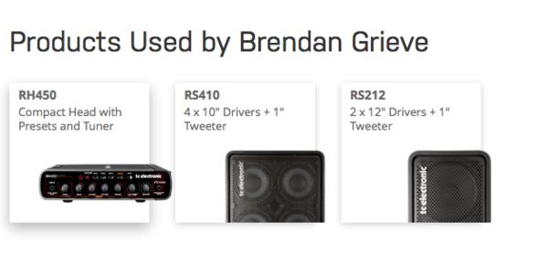Brendan Grieve's TC Electronic RH450