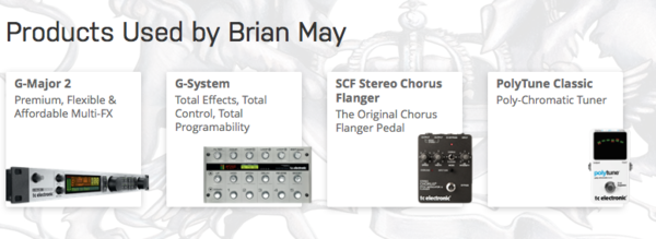 Brian May's TC Electronic G-System