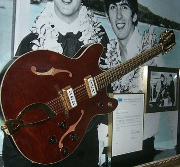 81dc0ecef John Lennon s 1966 Guild Starfire XII 12-String Guitar