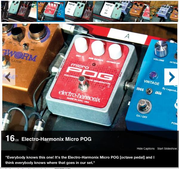 Scott Holiday's Electro-Harmonix Micro POG