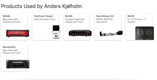 Anders Kjølholm's TC Electronic RH Rack Mount