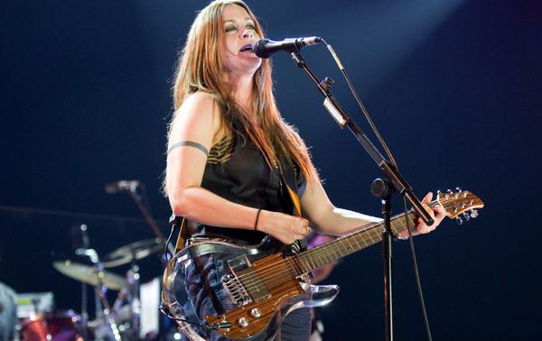 Alanis Morissette's Ampeg Dan Armstrong Plexi Electric Guitar
