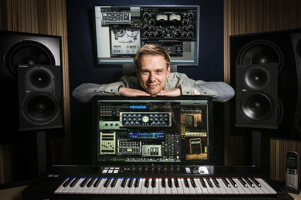 Armin Van Buuren's UAD Ampex ATR-102 Mastering Tape Recorder Plugin