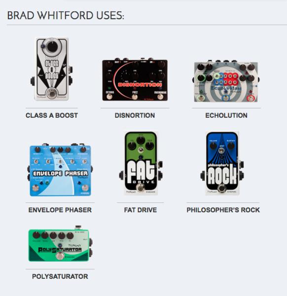 Brad Whitford's Pigtronix Philosopher's Rock Compressor