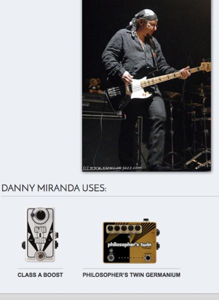 Danny Miranda's Pigtronix Philosopher's Twin Germanium