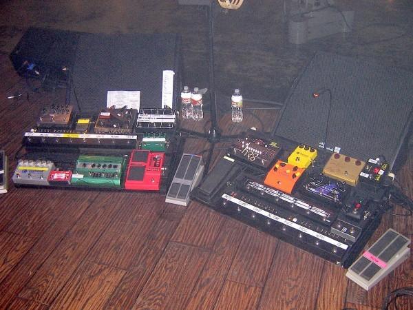 Ed O'Brien's Electro-Harmonix HOG Foot Controller