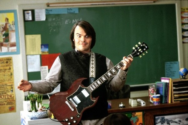 Jack Black's Gibson SG Standard Electric Guitar