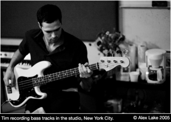 Tim Rice-Oxley's Fender Precision Bass