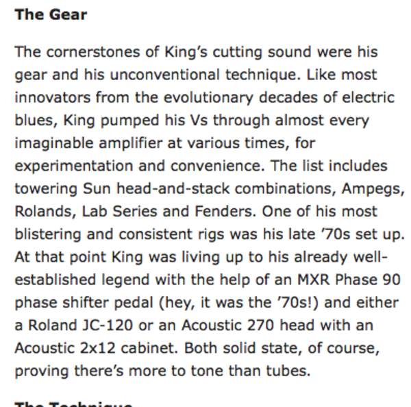 Albert King's MXR CSP-026 Handwired 1974 Vintage Phase 90 Pedal