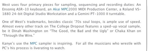 Kanye West's Gemini PT-1000 II | Equipboard®
