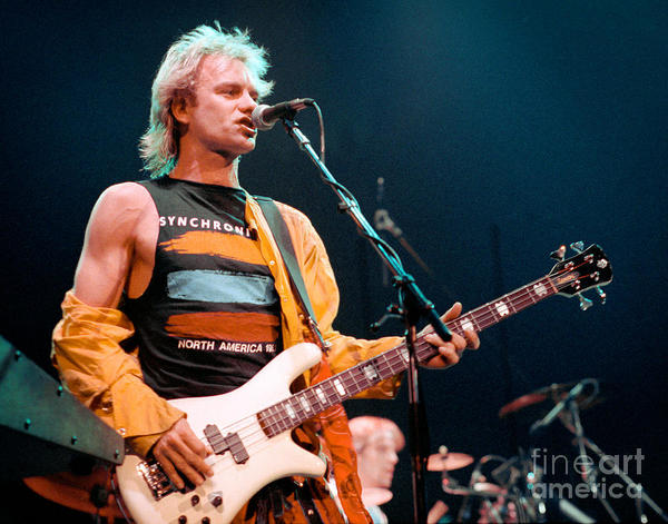 Sting's Spector NS2 Bass