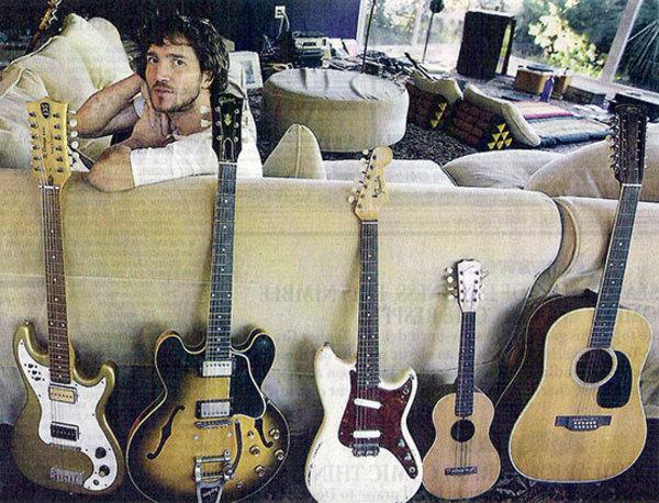 John Frusciante's Gibson Memphis 1959 ES-335TD & TDN