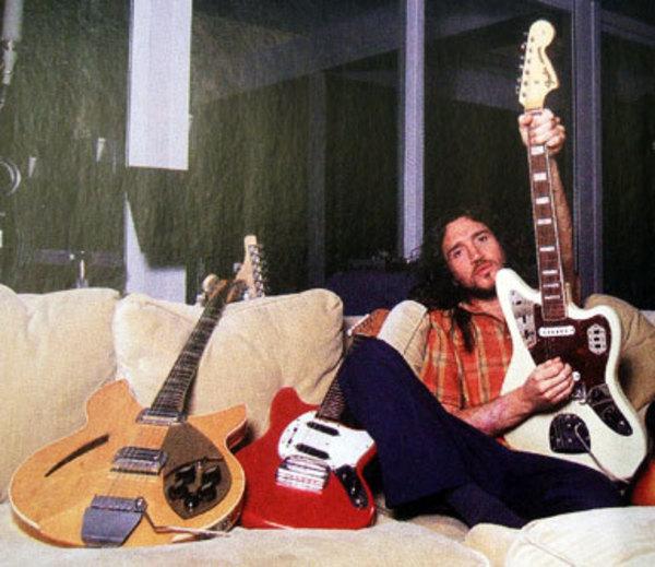 John Frusciantes Fender Jaguar Electric Guitar