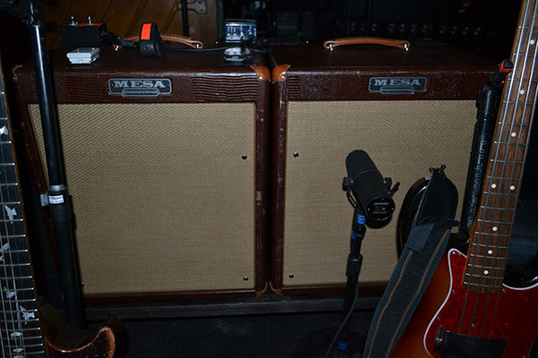Georg Hólm's Mesa Boogie WalkAbout Combo