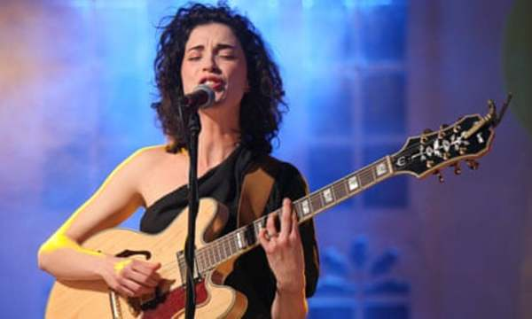 St. Vincent's Epiphone Sheraton II Electric Guitar