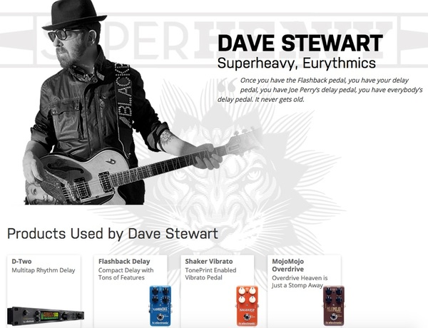 Dave Stewart's TC Electronic MojoMojo Overdrive