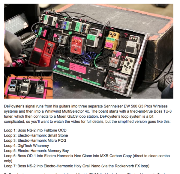 Jeremy DePoyster's Electro-Harmonix Micro POG