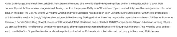 Tom Petty's Marshall JMP50 Plexi Amp Head