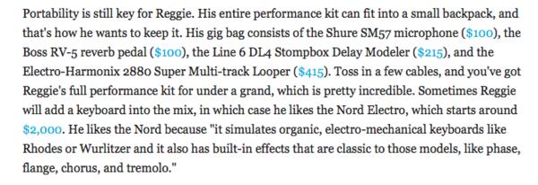Reggie Watts's Shure SM57 Dynamic Instrument Microphone